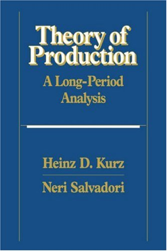 9780521443258: Theory of Production: A Long-Period Analysis