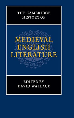 9780521444200: The Cambridge History of Medieval English Literature