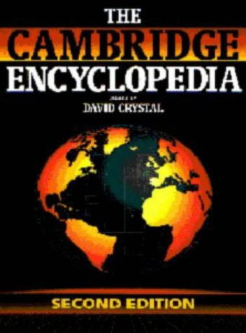9780521444293: The Cambridge Encyclopedia