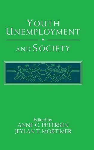 9780521444736: Youth Unemployment and Society