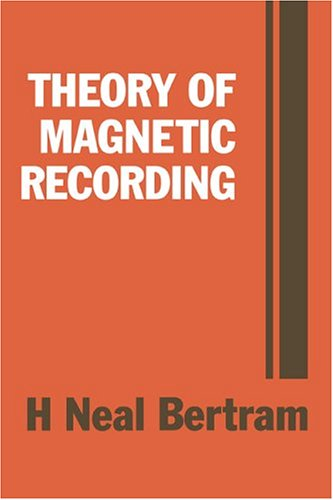 9780521445122: Theory of Magnetic Recording