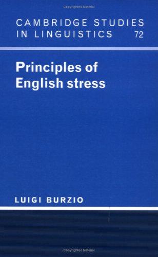 9780521445139: Principles of English Stress Hardback (Cambridge Studies in Linguistics)
