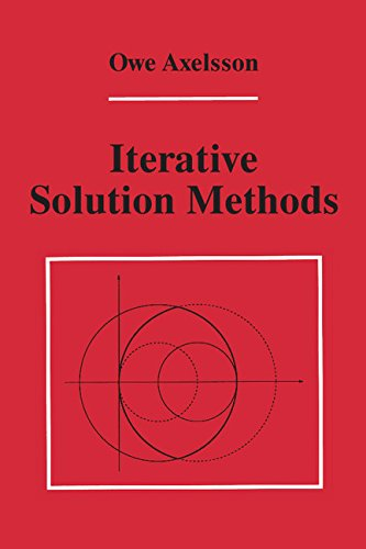 9780521445245: Iterative Solution Methods