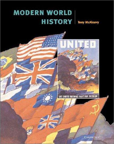 Modern World History (Cambridge History Programme Key: McAleavy, Tony