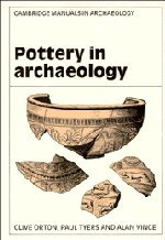 9780521445979: Pottery in Archaeology (Cambridge Manuals in Archaeology)
