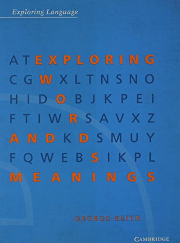 9780521446242: Exploring Words and Meanings (Exploring Language)
