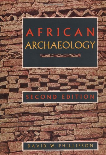 9780521446587: African Archaeology (Cambridge World Archaeology)