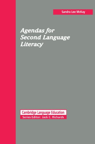 9780521446648: Agendas for Second Language Literacy (Cambridge Language Education)