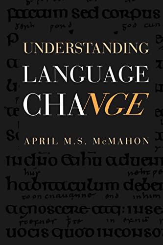 9780521446655: Understanding Language Change