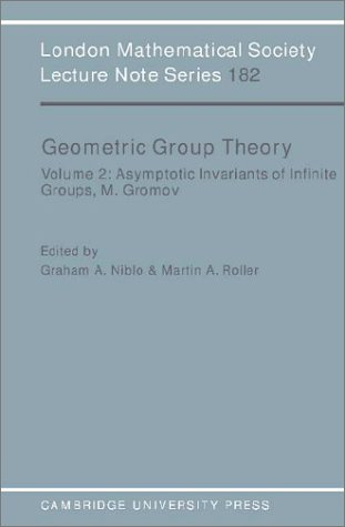 9780521446808: LMS: 182 Geometric Group Theory v2 (London Mathematical Society Lecture Note Series)