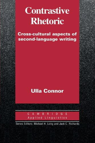 9780521446884: Contrastive Rhetoric: Cross-Cultural Aspects of Second Language Writing (Cambridge Applied Linguistics)
