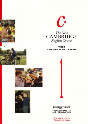 The New Cambridge English Course 1 Student activity book (0521447038) by Desmond Thomas; Michael Swan; Catherine Walter