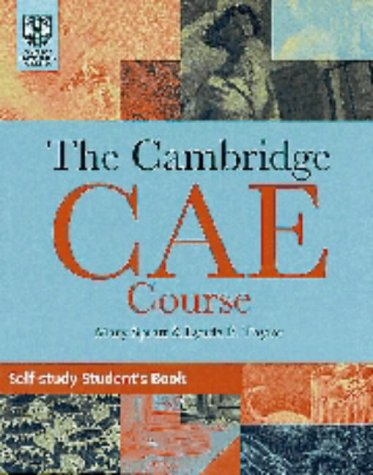 9780521447102: The Cambridge Certificate of Advanced English Course Self-Study Student's Book