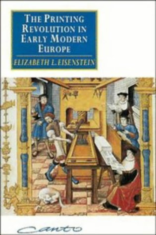 9780521447706: The Printing Revolution in Early Modern Europe (Canto)
