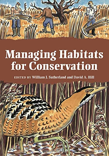 9780521447768: Managing Habitats for Conservation