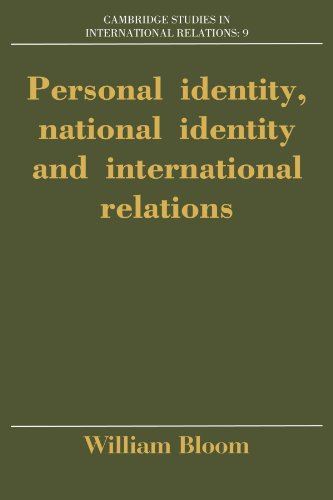 9780521447843: Personal Identity, National Identity and International Relations (Cambridge Studies in International Relations)