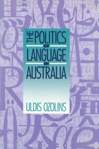 9780521447867: The Politics of Language in Australia