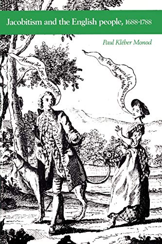 9780521447935: Jacobitism and the English People, 1688-1788