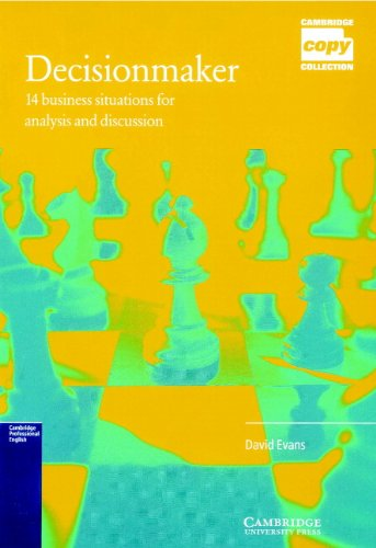 9780521448055: Decisionmaker: 14 Business Situations for Analysis and Discussion (Cambridge Copy Collection)