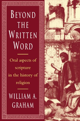 9780521448208: Beyond the Written Word Paperback: Oral Aspects of Scripture in the History of Religion