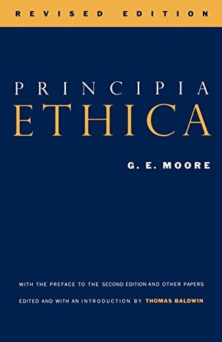 9780521448482: Principia Ethica