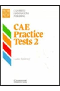 9780521448864: CAE Practice Tests 2 Student's book: Level 2 (Cambridge examinations publishing)
