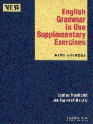 9780521449540: English Grammar in Use Supplementary Exercises with Answers