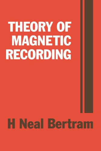 9780521449731: Theory of Magnetic Recording