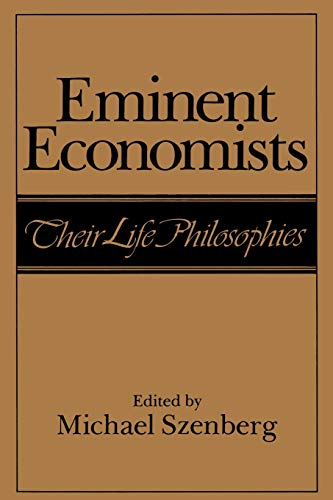 9780521449878: Eminent Economists Paperback: Their Life Philosophies
