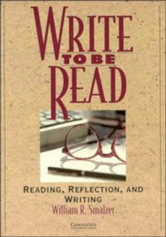 9780521449915: Write to be Read Student's book: Reading, Reflection, and Writing