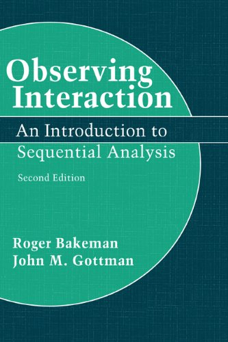 9780521450089: Observing Interaction: An Introduction to Sequential Analysis
