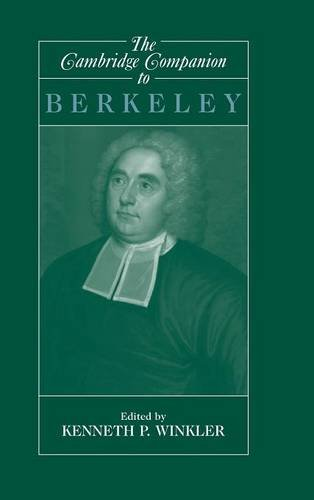 9780521450331: The Cambridge Companion to Berkeley (Cambridge Companions to Philosophy)