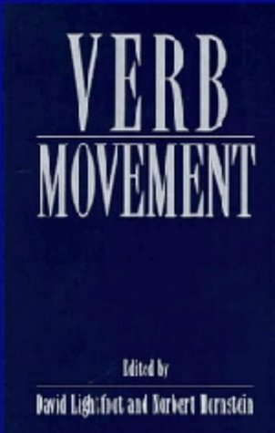 Verb movement.: LIGHTFOOT, DAVID and NORBERT HORNSTEIN (eds.).