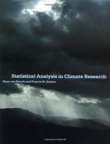9780521450713: Statistical Analysis in Climate Research