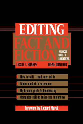 9780521450805: Editing Fact and Fiction: A Concise Guide to Book Editing
