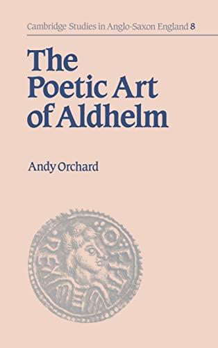 9780521450904: The Poetic Art of Aldhelm (Cambridge Studies in Anglo-Saxon England)