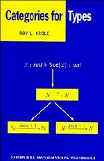 9780521450928: Categories for Types (Cambridge Mathematical Textbooks)