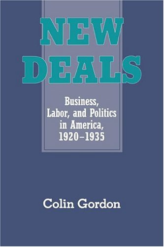 9780521451222: New Deals: Business, Labor, and Politics in America, 1920-1935