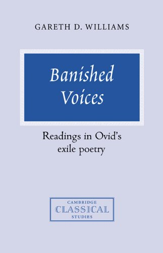 9780521451369: Banished Voices: Readings in Ovid's Exile Poetry (Cambridge Classical Studies)