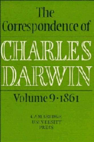 9780521451567: The Correspondence of Charles Darwin: Volume 9, 1861