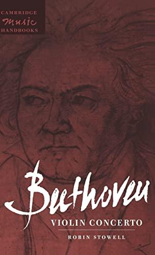 9780521451598: Beethoven: Violin Concerto Hardback (Cambridge Music Handbooks)