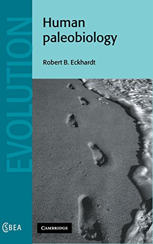 9780521451604: Human Paleobiology Hardback (Cambridge Studies in Biological and Evolutionary Anthropology)