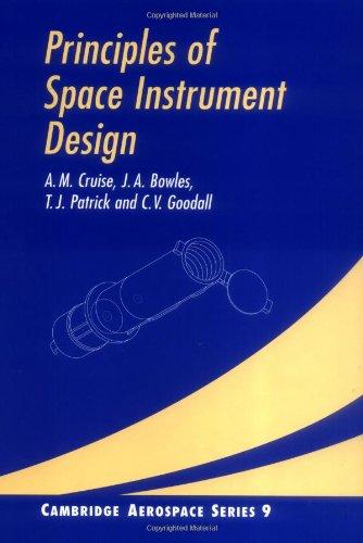9780521451642: Principles of Space Instrument Design (Cambridge Aerospace Series)