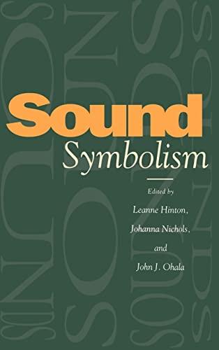 9780521452199: Sound Symbolism Hardback