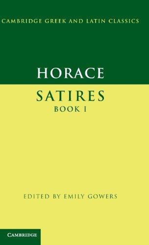 9780521452205: Horace: Satires Book I Hardback (Cambridge Greek and Latin Classics)
