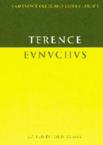 9780521452298: Terence: Eunuchus