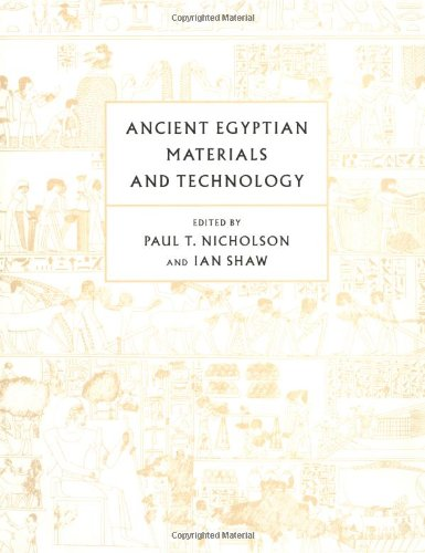 Ancient Egyptian Materials and Technology (Hardcover): Paul T. Nicholson