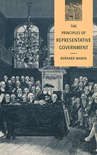 9780521452588: The Principles of Representative Government