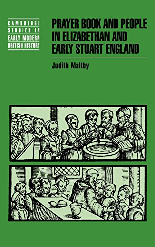 9780521453134: Prayer Book and People in Elizabethan and Early Stuart England (Cambridge Studies in Early Modern British History)