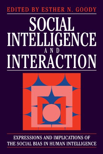 9780521453295: Social Intelligence and Interaction: Expressions and implications of the social bias in human intelligence